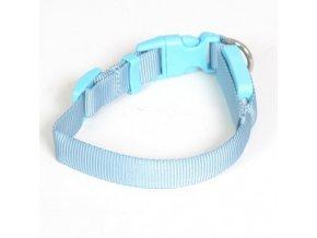 svitici obojek svetle modry 15mm x 18 az 28 cm original