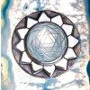 vyrp12 422Sri Yantra privesek s horskym krystalem III