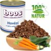 Konzerva pro psy - Hovězí s rýží a zeleninou - BOOS