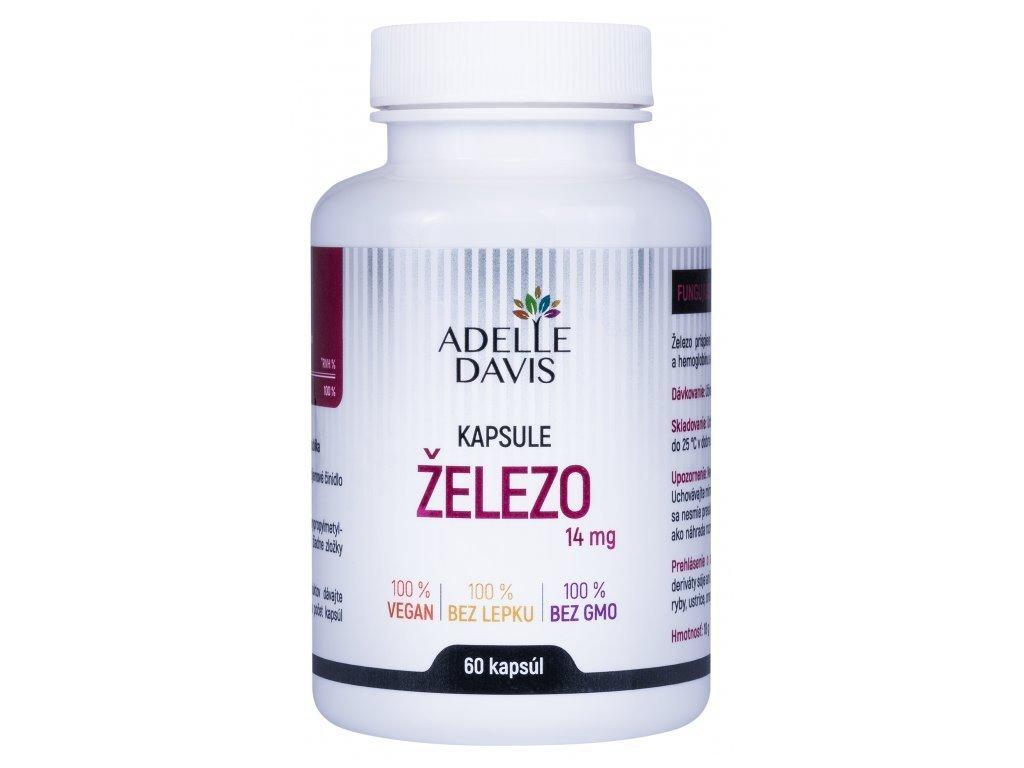 zelezo 14 mg 60 kapsul