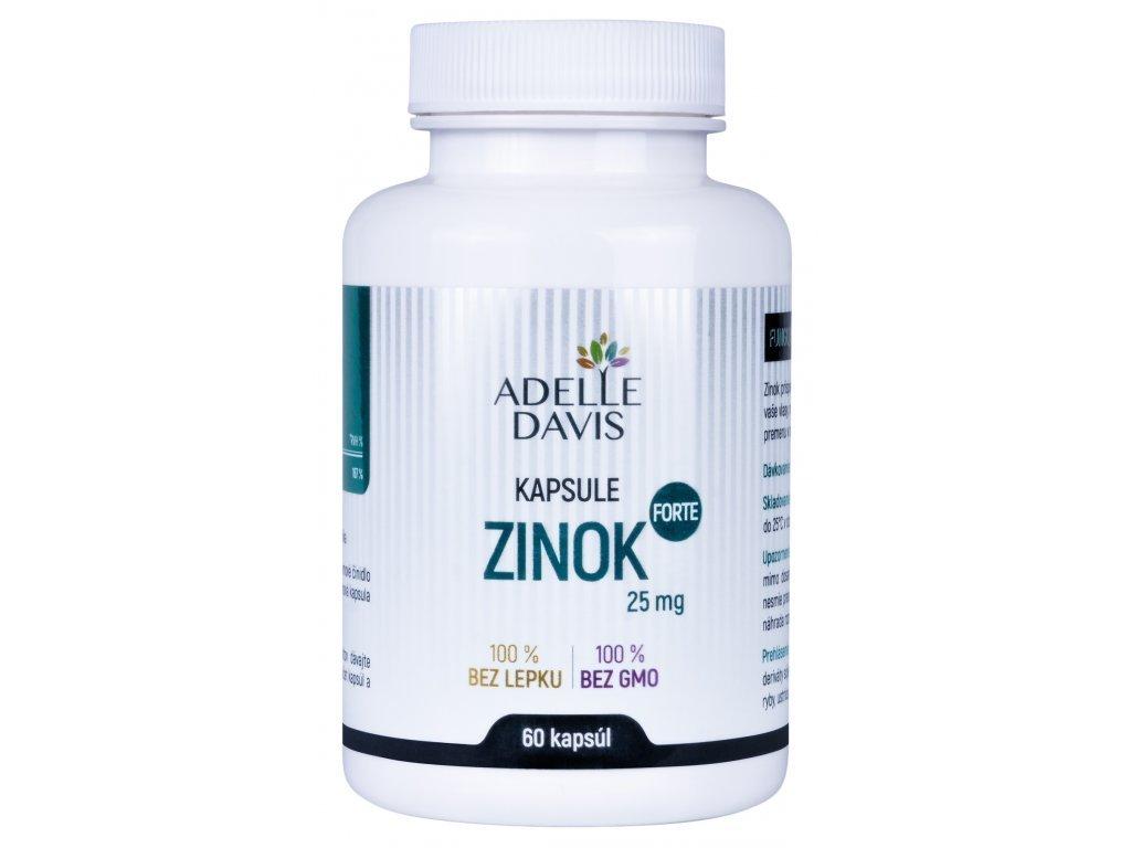 zinok forte 25 mg 60 kapsul 1