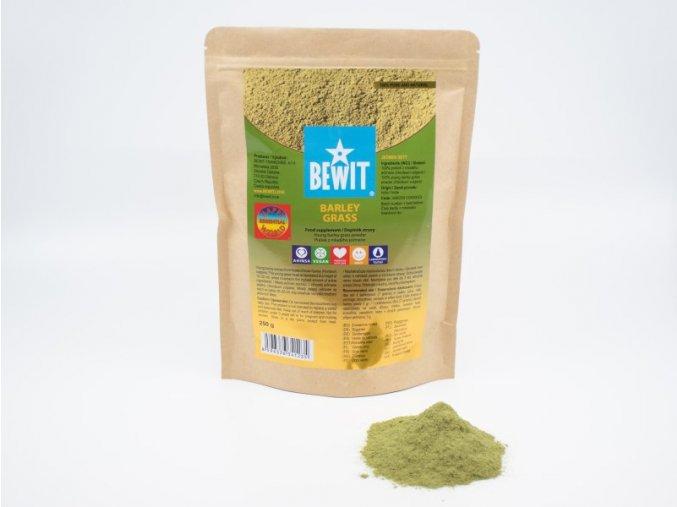 barley grass 250 g doplnek stravy mlady jecmen zeleny jecmen prasek z mladeho jecmene thumbnail 1590065255 BEWIT BARLEY GRASS POWDER 250 G 1