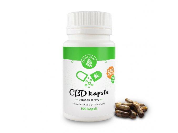 cbd capsule cz