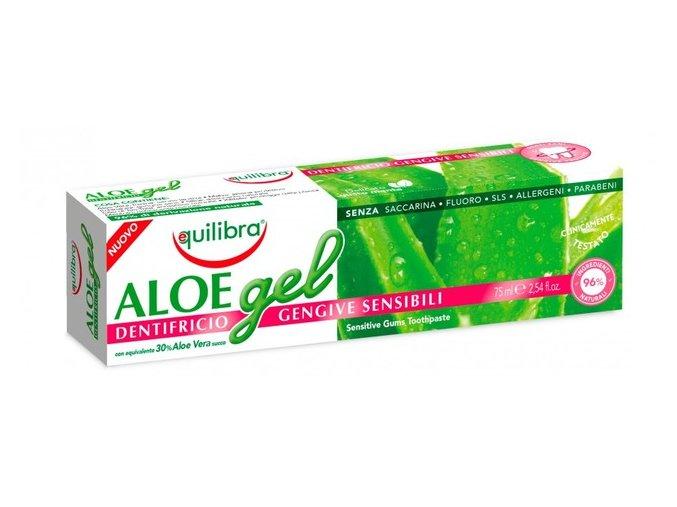 zubna pasta aloe gel sensitive gums pre citlive dasna s 30 obsahom stavy z aloe vera df5702685806553c