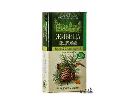 Cédrový olej s cédrovou živicou 20% 100 ml