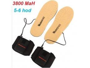 Vyhřívané vložky do bot WS 3800mAh
