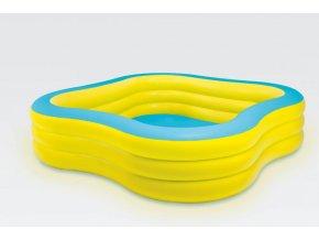Bazén nafukovací ČTVEREC 229X229