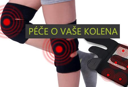 ilwy Samovýhřevné ortézy na kolena s Turmalinem