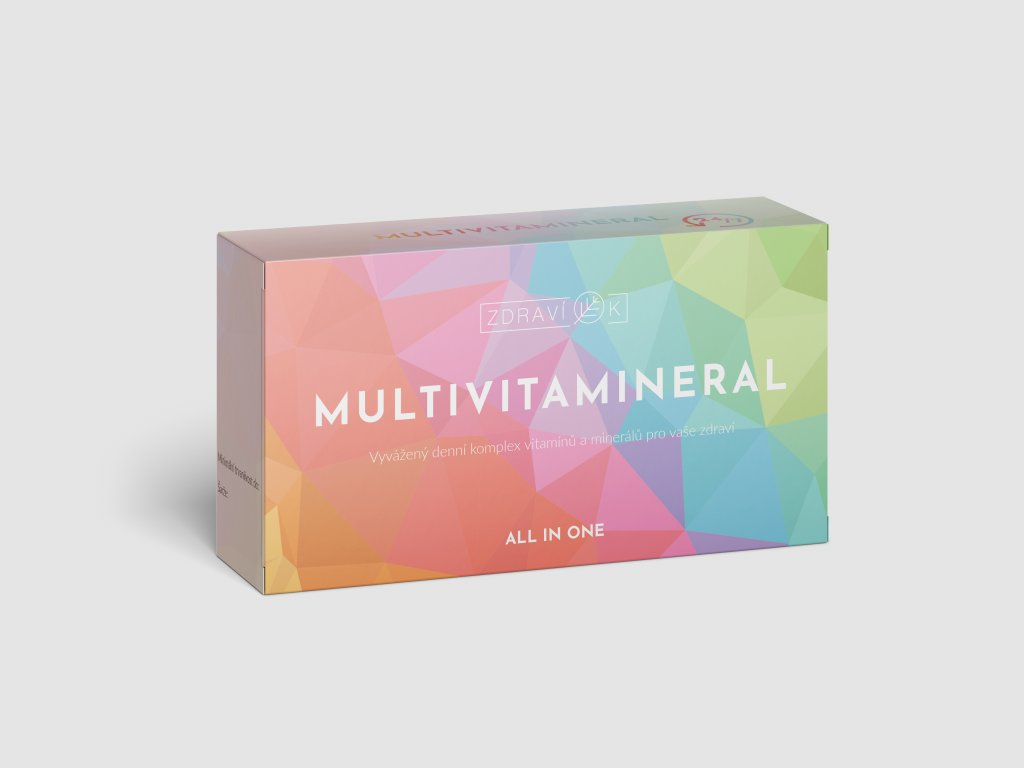 multivitamineral mockup