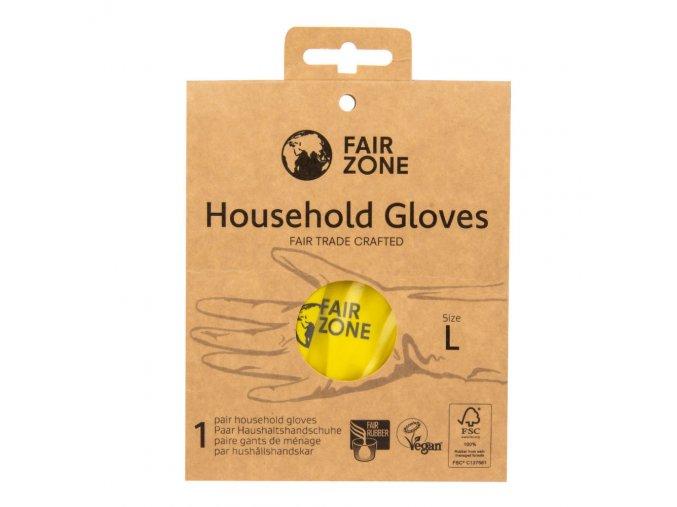 Fair Squared Rukavice pro domácnost z přírodního latexu L FAIR ZONE