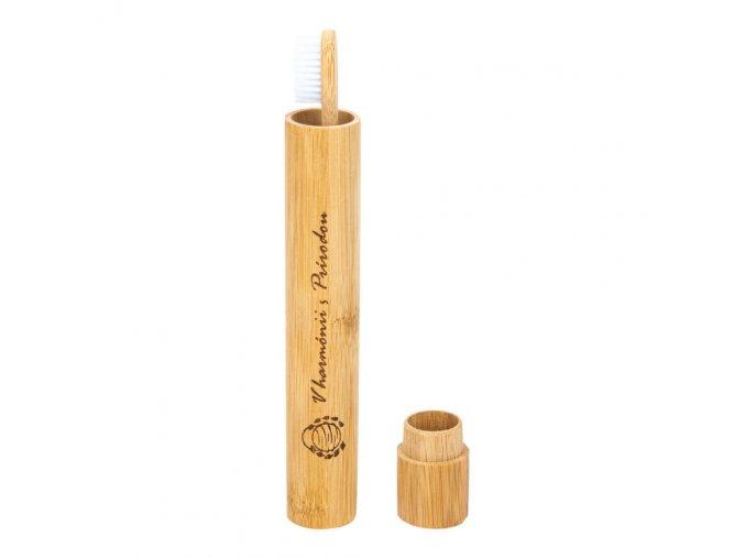 Curanatura Obal na zubní kartáček bambusový