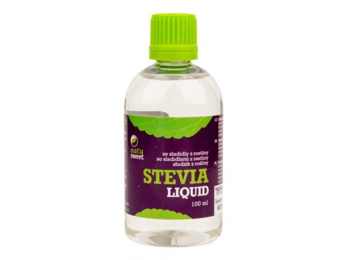 Natusweet Sladidlo ze stevie liquid 100 ml