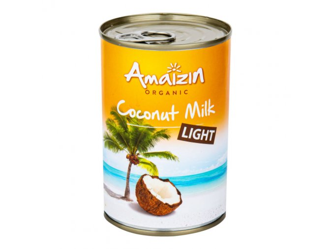 Amaizin Kokosová alternativa smetany light 9 % tuku BIO 400 ml