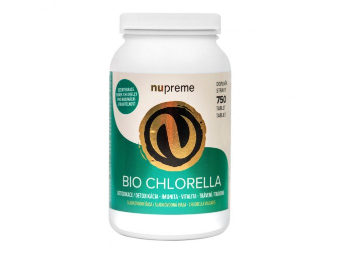 Nupreme Chlorella 750 tablet BIO 150 g