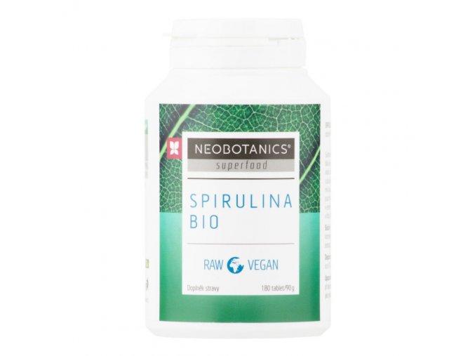 Neobotanics Spirulina 180 tablet BIO 90 g