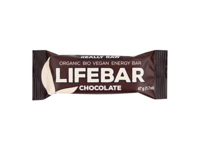 Lifefood Tyčinka Lifebar čokoládová BIO 47 g