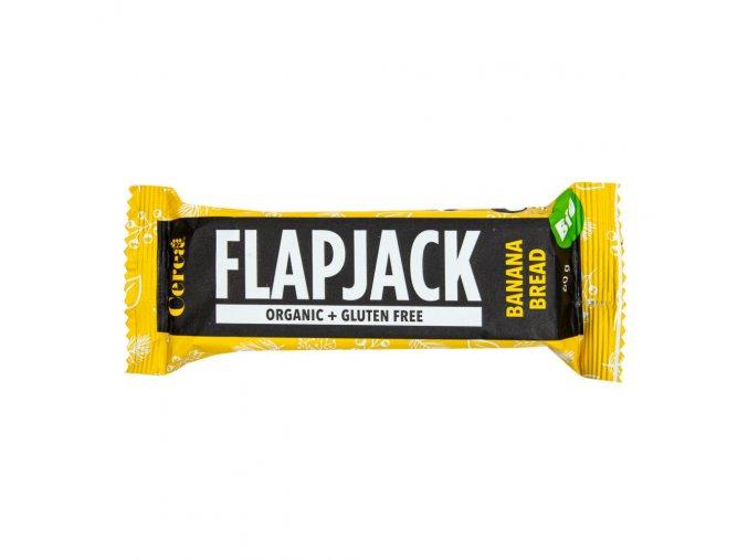 Cerea Flapjack bezlepkový banán BIO 60 g