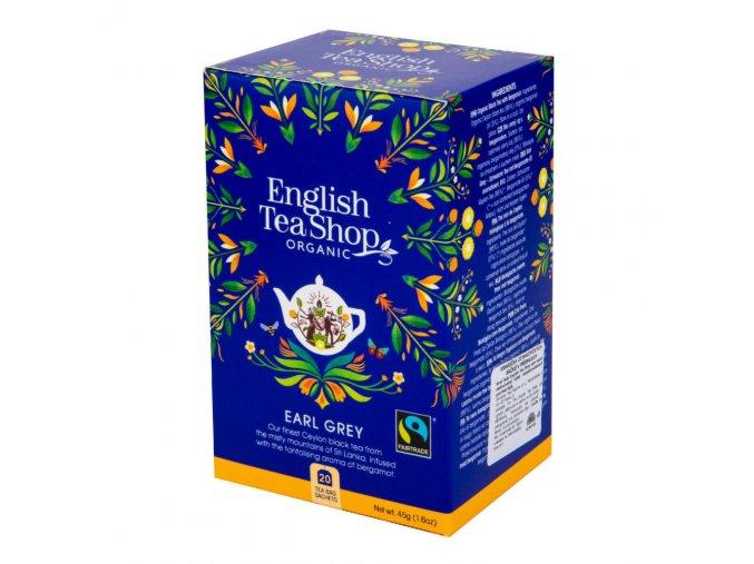 English Tea Shop Čaj Earl Grey Fair Trade BIO sáčky 20 Ks