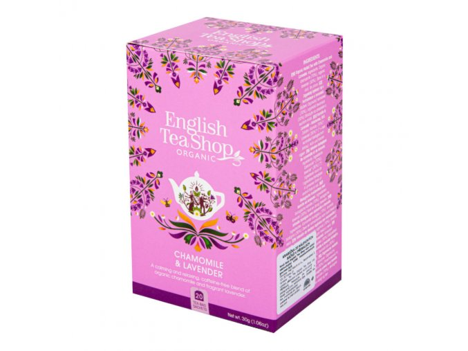 English Tea Shop Čaj Heřmánek a levandule BIO sáčky 20 Ks