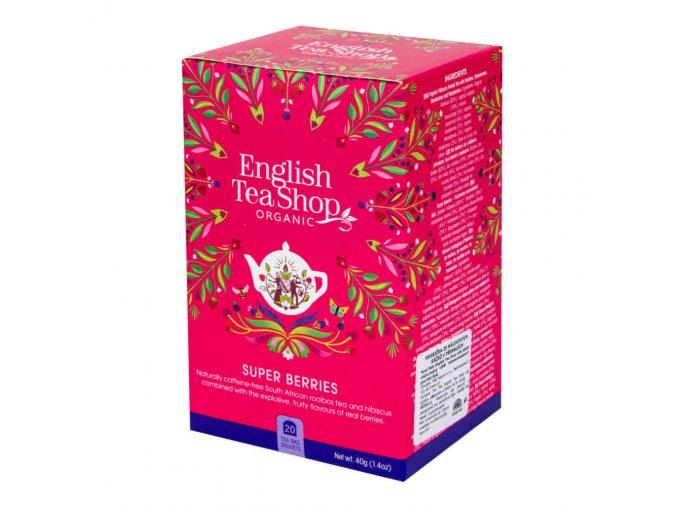English Tea Shop Čaj Super ovocný 20 sáčků BIO
