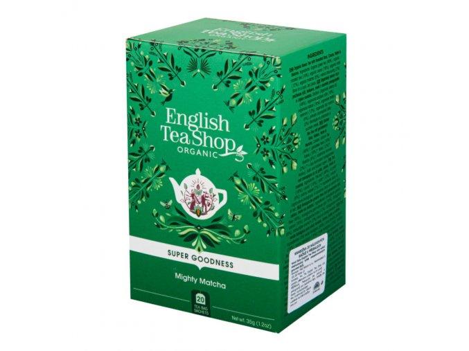 English Tea Shop Čaj Mocná Matcha 20 sáčků BIO