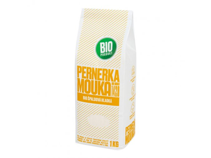 Pernerka Mouka špaldová hladká BIO 1 kg
