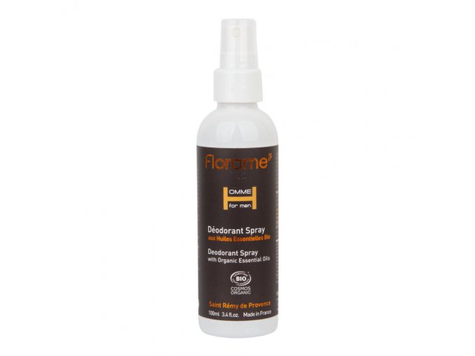 Florame Deodorant přírodní pánský sprej HOMME BIO 100 ml