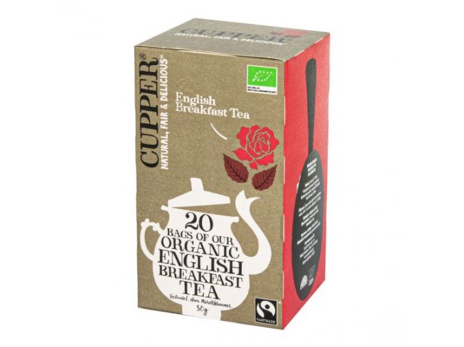 CUPPER Čaj English Breakfast BIO 50 g