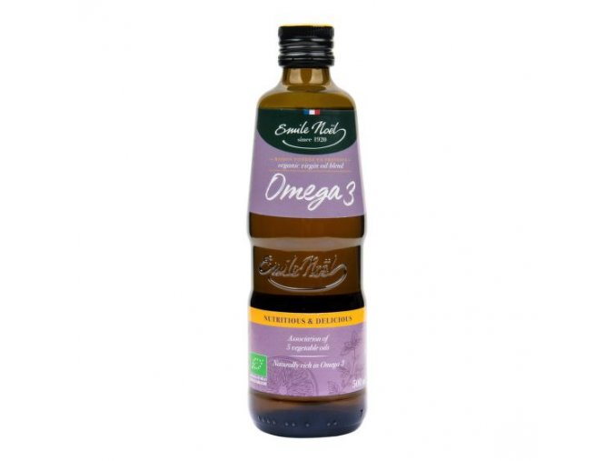 Emilie NOËL Olej omega 3 BIO 500 ml