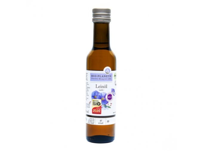 Bio Planete Olej lněný BIO 250 ml