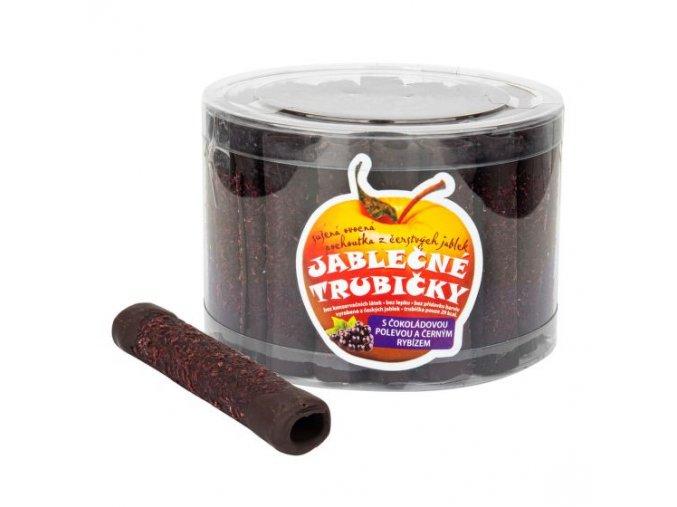 B. PRODUKT Trubičky jablečné s černým rybízem a čokoládou dóza 540 g