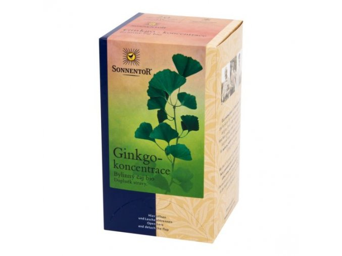 Sonnentor Čaj Ginkgo koncentrace BIO 20g