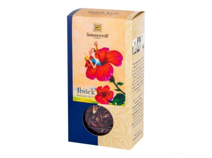 Sonnentor Čaj Ibišek květ sypaný BIO 80 g