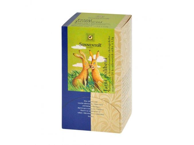 Čaj Jarní políbení 27 g BIO SONNENTOR