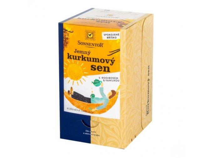 Sonnentor Čaj Jemný kurkumový sen BIO 27 g