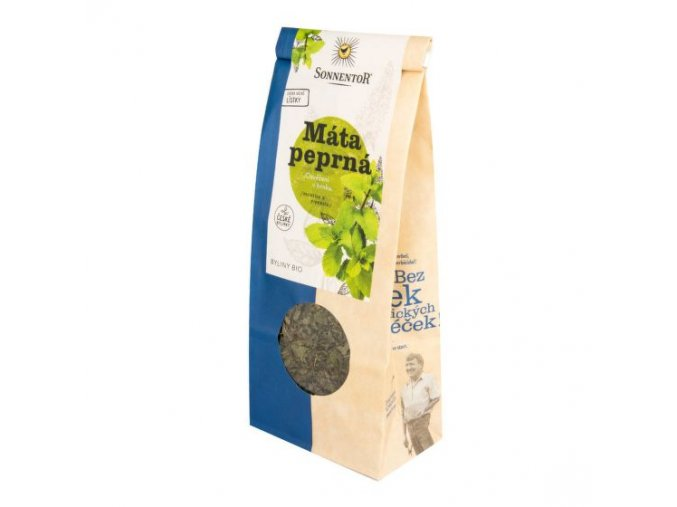Čaj Máta peprná sypaný 50 g BIO SONNENTOR