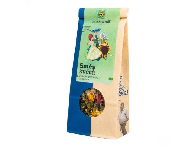 Sonnentor Čaj Směs květů sypaný BIO 40 g
