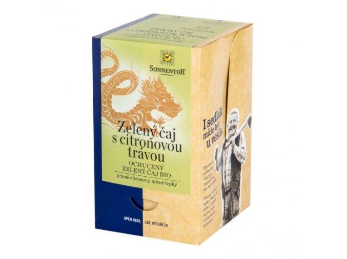Sonnentor Čaj Zelený s citronovou trávou BIO 21,6 g
