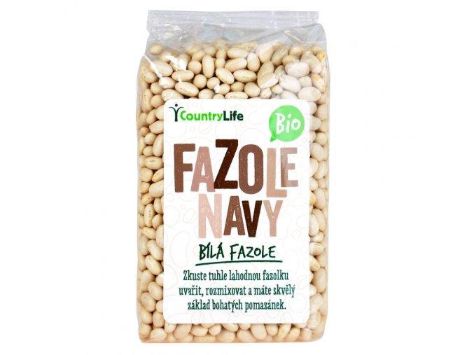 Fazole navy 500 g BIO COUNTRY LIFE