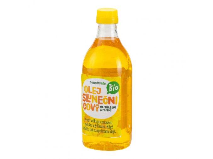 Olej slunečnicový na smažení a pečení 1 l BIO COUNTRY LIFE