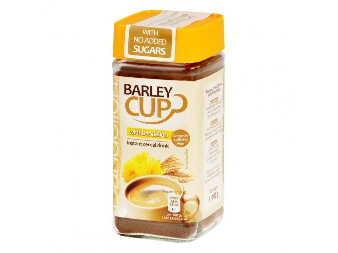 Pražená kávovinová směs s pampeliškou instantní bez lepku 100 g GRANA