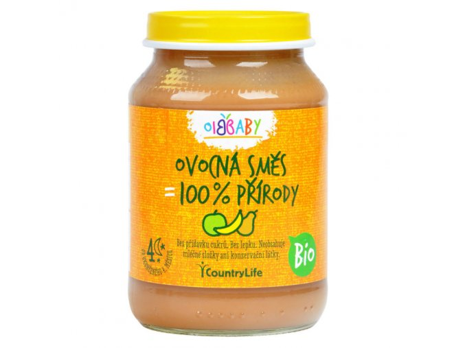 Příkrm ovocná směs 190 g BIO COUNTRY LIFE
