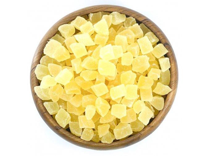Zdravoslav Ananas kandovaný kostka 500 g