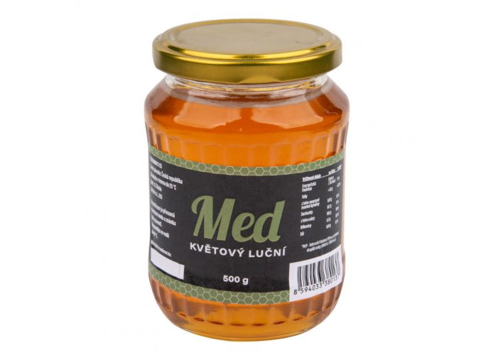 Číhala Med květový luční 500 g
