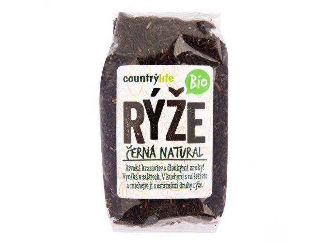 Country life Rýže černá natural BIO 500 g
