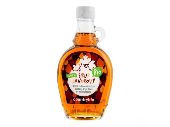 Country life Sirup javorový Grade A BIO 250 ml