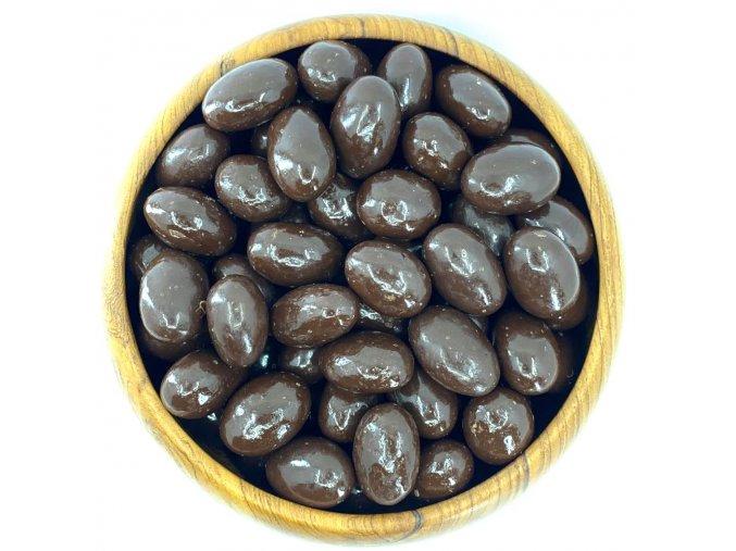 Zdravoslav Mandle v hořké čokoládě 250 g