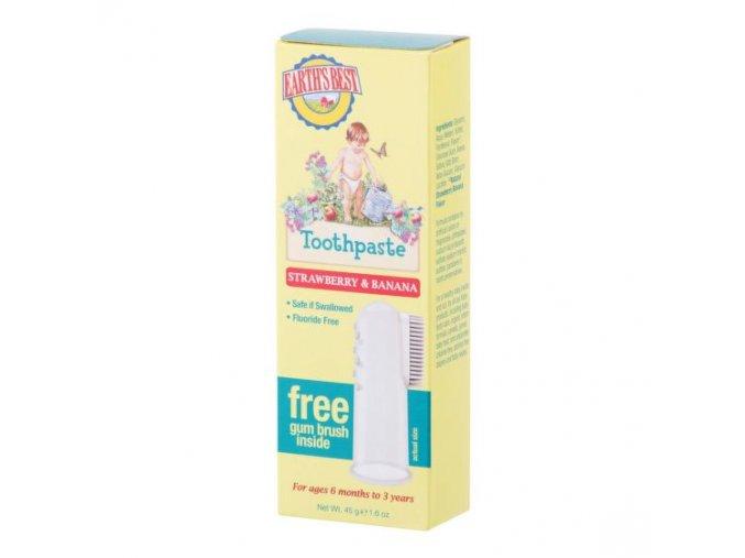 Jason E.B. Zubní pasta pro děti od 6 měsíců se zubním kartáčkem 45 g