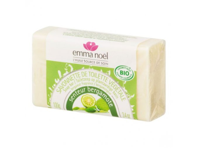 Emma Noël Mýdlo rostlinné bergamot BIO 100 g