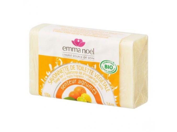 Emma Noël Mýdlo rostlinné citrus 100 g BIO